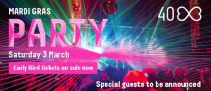 Mardi Gras Party 2018 at Hordern Pavilion