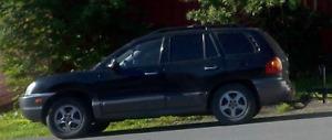 2004 Hyundai Santa Fe LX SUV, Crossover