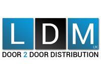 Leaflet Distributors Wanted