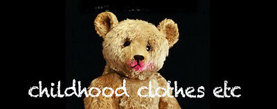 childhood clothes etc