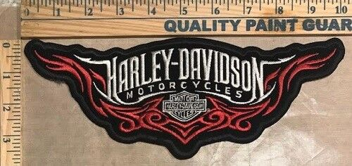 Retired Harley-Davidson Genuine Patch Tribal with Bar and Shield Large
