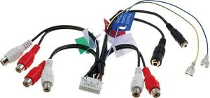 Pioneer-Avic-X1-X1r-X1Bt-Set-Of-Pre-Out-Rca-Sub-Harness-Lead-Wiring-Loom-Connect