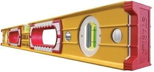 NEW-STABILA-4ft-120cm-48-Double-Plumb-Builders-Box-Spirit-Level-Type-196-2-120