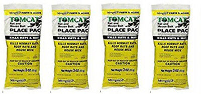 MOTOMCO Tomcat Mouse and Rat Place Pacs (4 - Pack)