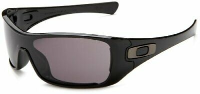 Oakley Antix Men's Sunglasses Polished Black/Grey Lens OO9077 03-700 NEW IN (Antix Oakley Sunglasses)