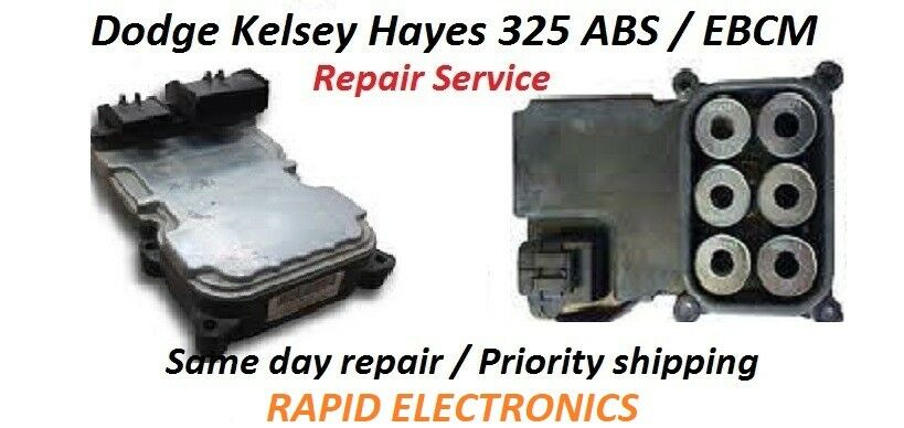 Dodge Ram Dakota Durango 1998 - 2008 Kelsey Hayes 325 ABS Module / EBCM Repair