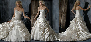 Beautiful Plus Size Wedding Gown
