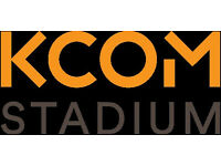 Match & Event Day Concourse Staff - KCOM Stadium - No Experience Necessary!