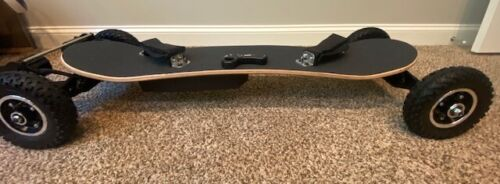 OFF-ROAD LARGE WHEEL ELECTRIC LONGBOARD SKATEBOARD