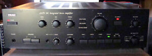 Vintage Teac A X75 DC Intergraded Stereo amplifier