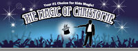 Professional Magician!  THE MAGIC OF CHRISTOPHE now booking!