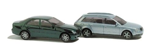 N Scale Model Vehicles - 8346 - Audi A4 Avant & Mercedes C- Class