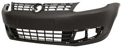 VW Caddy 2011 2015 Front Bumper Black Textured