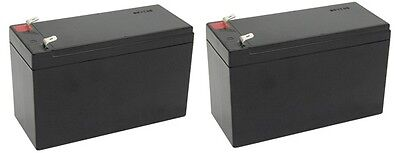 2 Pack  12V 9Ah Battery Apc Back Ups Xs1500 Rbc109 Ps 1290 Replacement Batteries