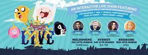 Adventure Time LIVE Tickets with Meet and Greet x2 - Melbourne Mawson Lakes Salisbury Area Preview