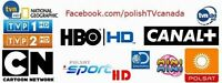 POLISH TV - LIVE and VOD - over 60 live channels $15/month