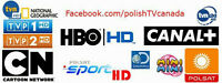 Over 120 Polish TV channels live and VOD +Filmy Polskie