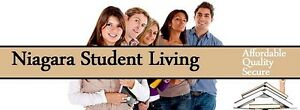 Niagara Student Living- apartments available