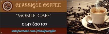 "Start Up Business Name  -  ""Classique Coffee"""