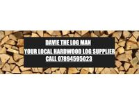 firewood hardwood logs and big tree felling services. based in scottish borders
