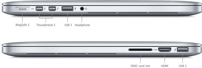 Apple MacBook Pro Retina Core i5 2.5GHz 8GB RAM 256GB SSD 13 MD213LLA