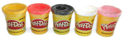 Play-Doh .5oz 2-Pack ,Chose from Black, White, Pink, Yellow, Red)