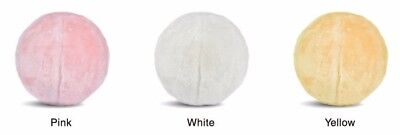 23cm Exercise Ball for Yoga, Pilates & Gym w/ Fur Ball Cover Great for Home Deco