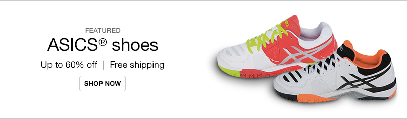 Up to 60% off ASICS®