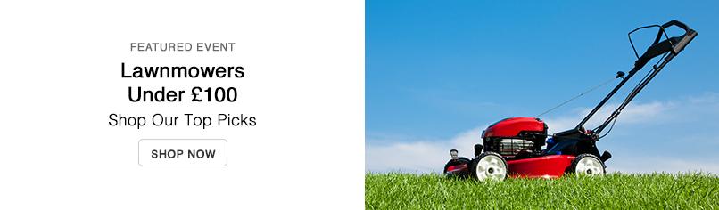 Lawnmowers Under £100