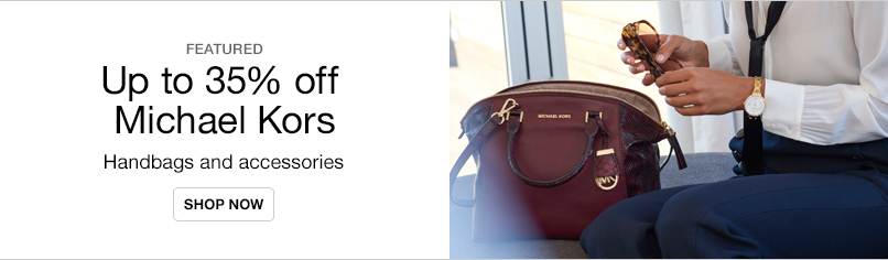 Up to 35% off Michael Kors