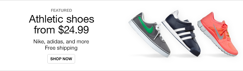 Athletic Shoes from $24.99