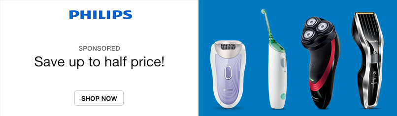 Great Savings on Philips Electricals