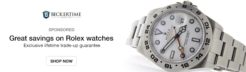 Beckertime: Great savings on Rolex watches