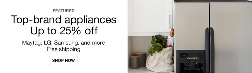 Major Appliance Top Brands