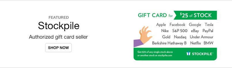 World's First eGift Card for Stock