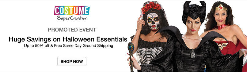Costume SuperCenter: Huge Savings on Halloween Essentials
