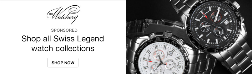 The Watchery: Shop all Swiss Legend Watch Colletions
