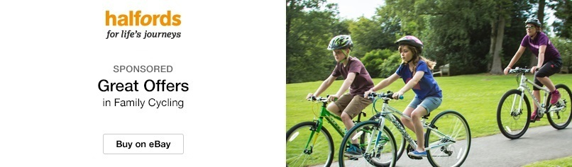 Fantastic deals on family cycling at Halfords