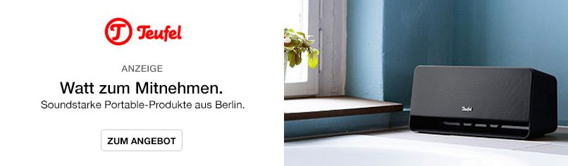 Watt zum Mitnehmen. - Soundstarke Portable-Produke aus Berlin