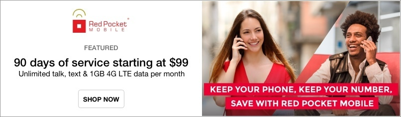 Red Pocket Mobile: Prepaid Wireless Plans