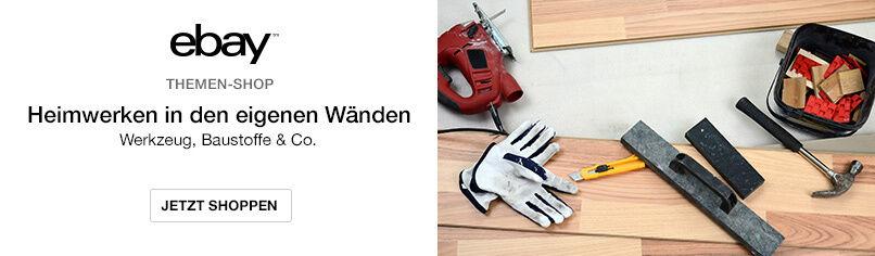 Werkzeuge, Baustoffe und mehr