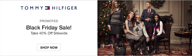 Tommy Hilfiger: Black Friday Sale