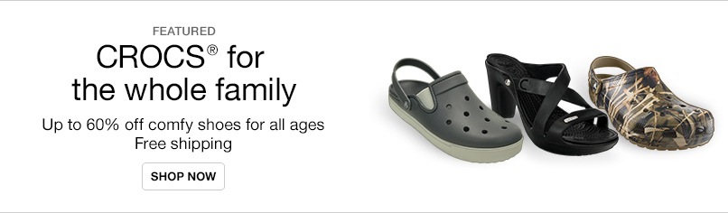 Crocs for the Whole Family
