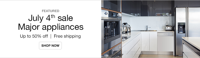 July 4th Appliance Sale
