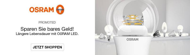 Sparen Sie Bares Geld! - Längere Lebensdauer mit OSRAM LED.