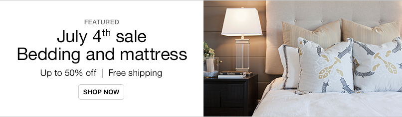 July 4th Mattress and Bedding Sale