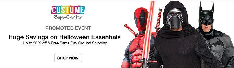 Costume SuperCenter: Huge Savings on Halloween Essentials