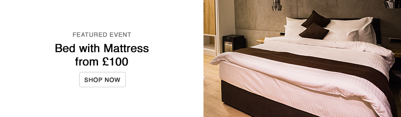 Beds with Mattress from £149.99