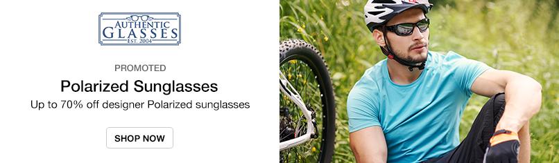 Polarized Sunglasses: Up to 70% off designer Polarized sunglasses