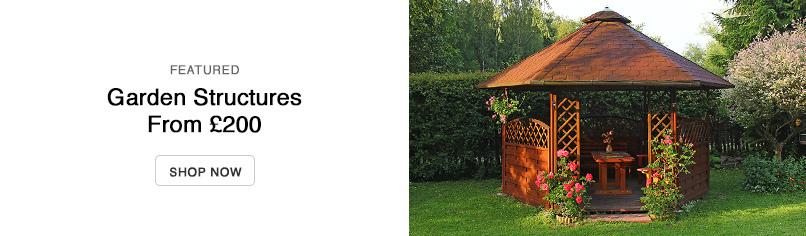 sheds under £300